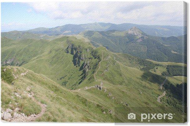 Obraz na płótnie Grzbiety i Puy griou od Puy-mary - Wakacje