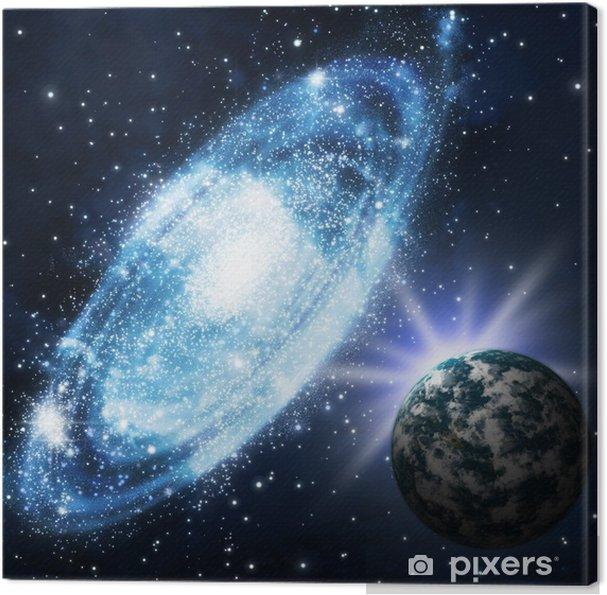 Obraz na płótnie Gwiazdy i galagy - Tematy