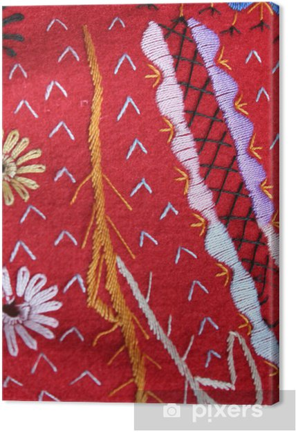 Obraz na płótnie Hafty. kostium kanarka - Tekstury