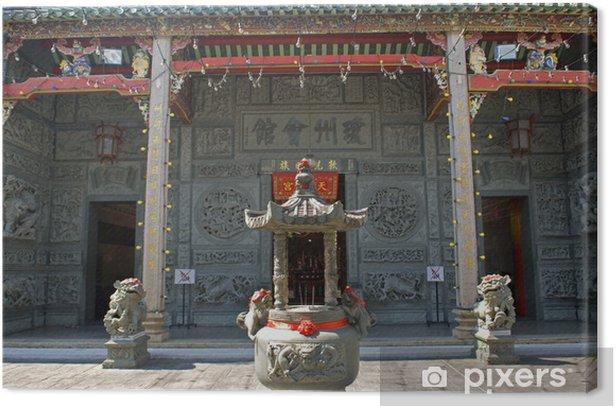 Obraz na płótnie Hainan Temple, Georgetown, Penang, Malezja - Azja