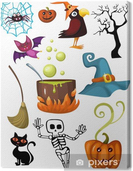 Obraz na płótnie Halloween zestaw - Święta międzynarodowe