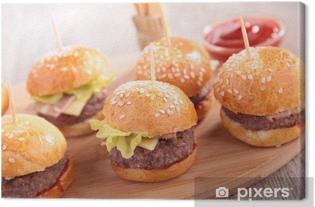 Obraz na płótnie Hamburger - Tematy