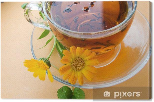 Obraz na płótnie Herbata z nagietka - Gorące napoje