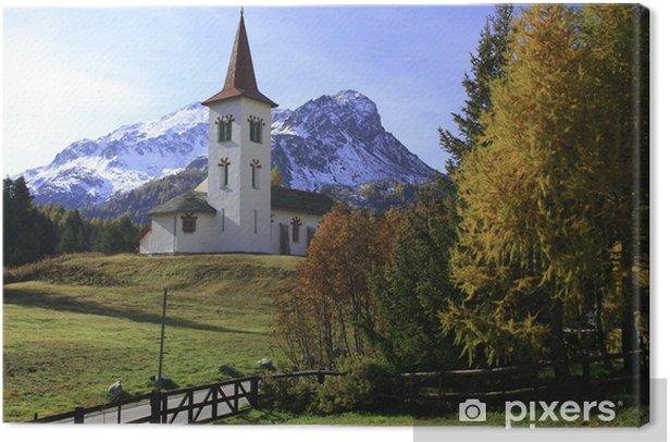 Obraz na płótnie Herbststimmung w Maloja - Europa