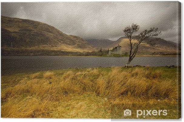 Obraz na płótnie Highlands Scotland Castle Kilchurn - Zabytki