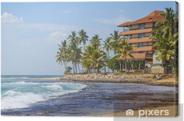 Obraz na płótnie Hikkaduwa Beach Hotel am - Azja