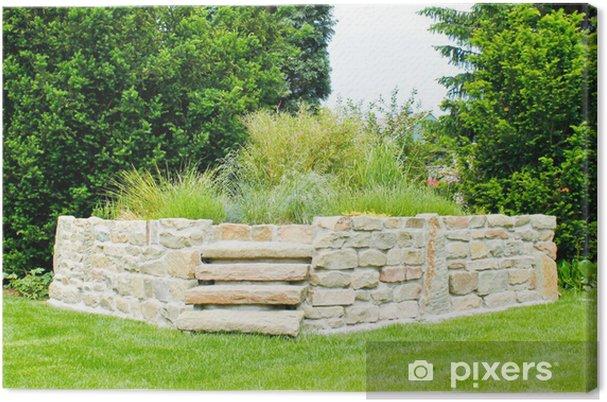 Obraz na płótnie Hochbeet - przedni - Dom i ogród