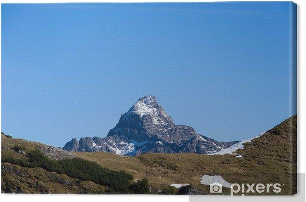 Obraz na płótnie Hochvogel - Allgäuer Alpen - Deutschland - Europa