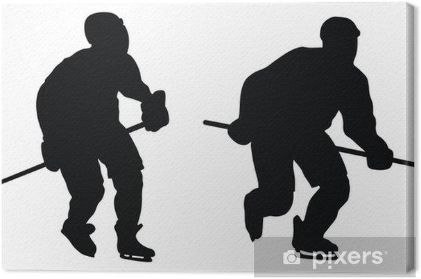 Obraz na płótnie Hokeista - Naklejki na ścianę