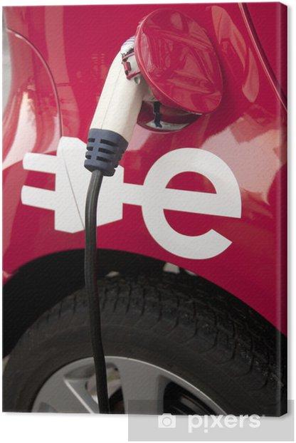 Obraz na płótnie Holandia. Pojazd elektryczny. Transport Ekologiczny. - Transport drogowy