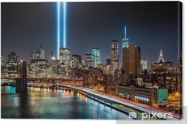 Obraz na płótnie Hołd w dniu 11.09.2014 pomnik światła - Zabytki