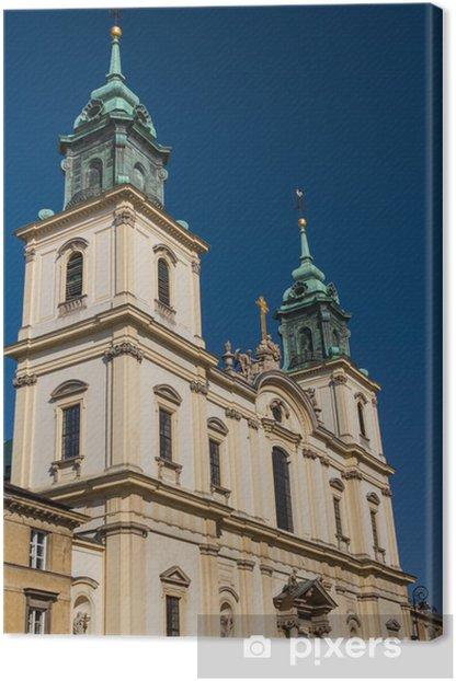 Obraz na płótnie Holy Cross Church (Kosciol Swietego Krzyza), Warsaw, Poland - Wakacje