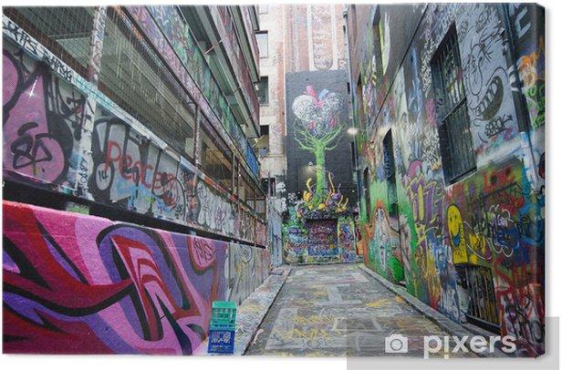 Obraz na płótnie Hosier Lane - Melbourne - Tematy