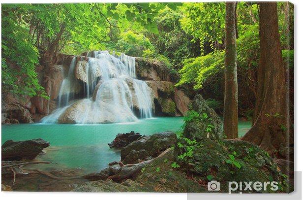 Obraz na płótnie Huay Mae kamień wodospad - Tematy