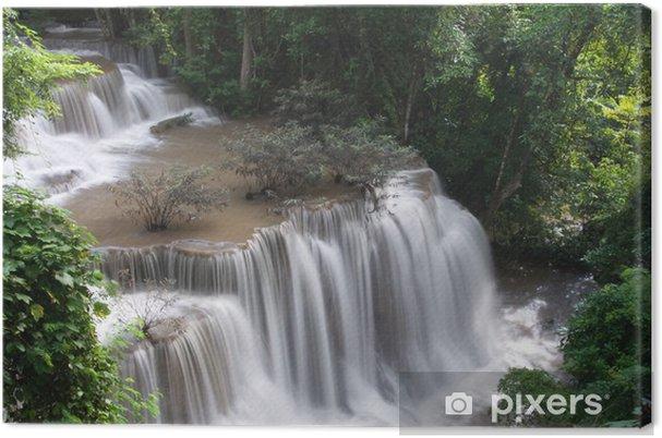 Obraz na płótnie Huay Mae poziom Khamin dalej, raj wodospad w głębokim - Azja