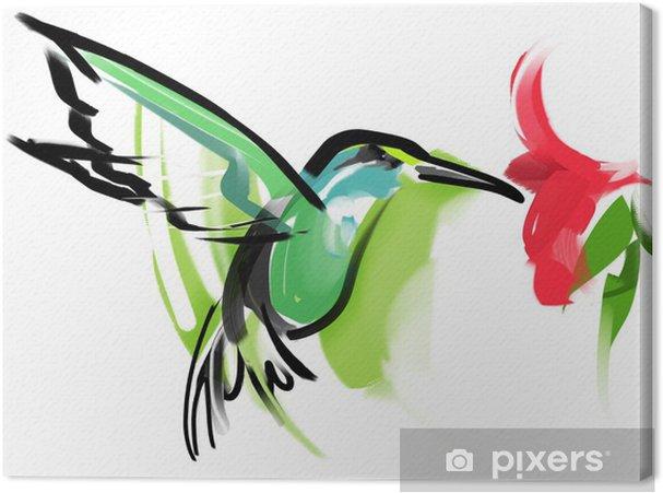 Obraz na płótnie Hummingbird - Cuda natury
