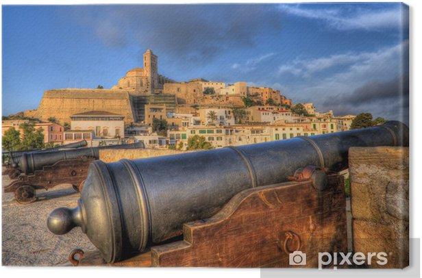 Obraz na płótnie Ibiza - Ibiza - ściana - Pejzaż miejski