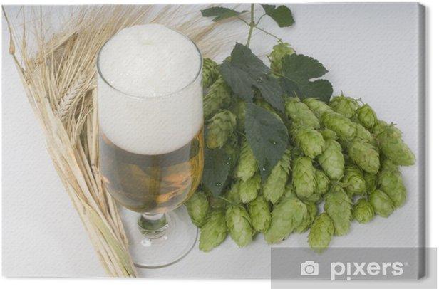 Obraz na płótnie Idylla chmielem 2 - Alkohol