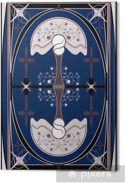 Obraz na płótnie Ilustracja nowa sztuka - Znaki i symbole