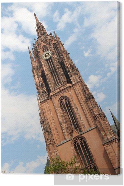 Obraz na płótnie Imperial Katedra w Frankfurcie - Europa