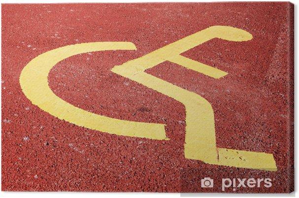 Obraz na płótnie Inwalidztwo - Zdrowie i medycyna