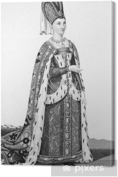 Obraz na płótnie Isabeau z Bawarii -
