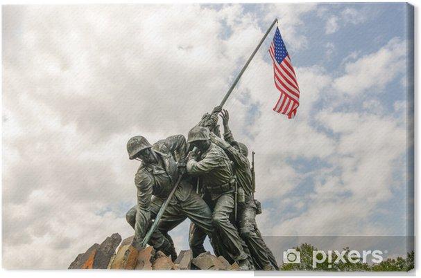 Obraz na płótnie Iwo Jima w Washingron DC - Miasta amerykańskie