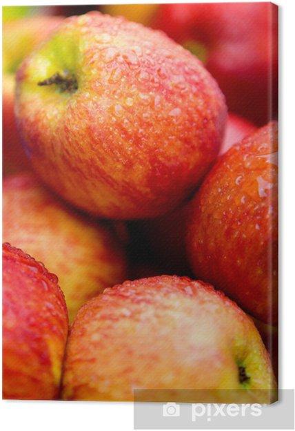 Obraz na płótnie Jabłka leżące na sklepu - Posiłki