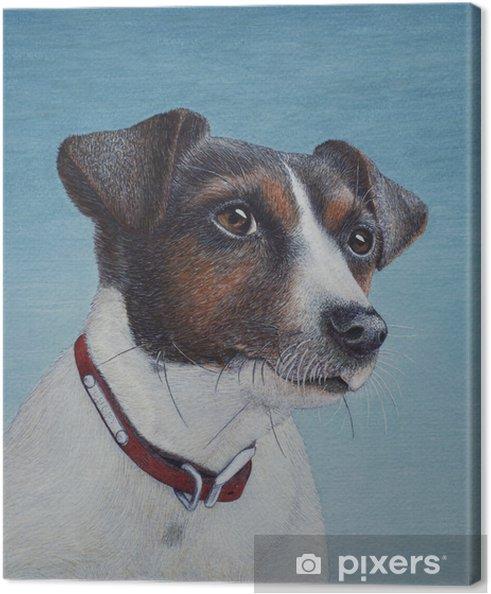 Obraz na płótnie Jajko tempera malowanie jack russell terrier - Hobby i rozrywka