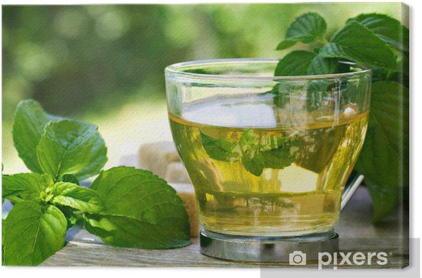 Obraz na płótnie Jak herbata - Gorące napoje