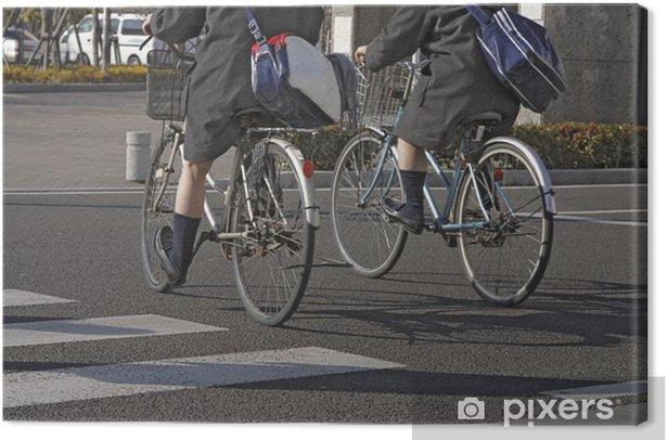 Obraz na płótnie Japanese schoolgirls - Azja