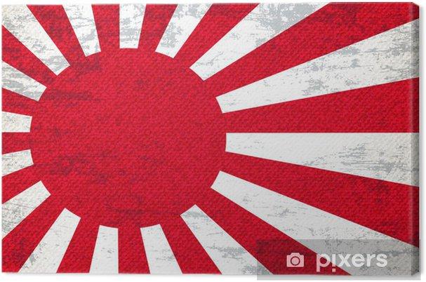 Obraz na płótnie Japonia Flaga Kontekst Sztuki - Sztuka i twórczość