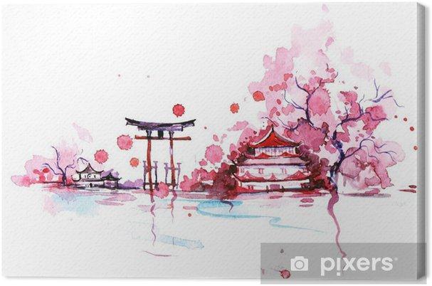 Obraz na płótnie Japonia - Podróż