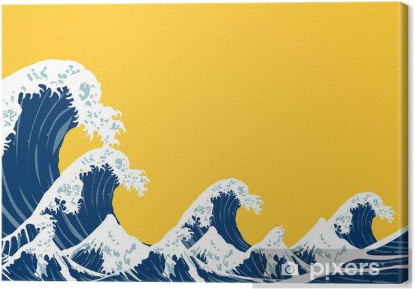 Obraz na płótnie Japoński morza - Style
