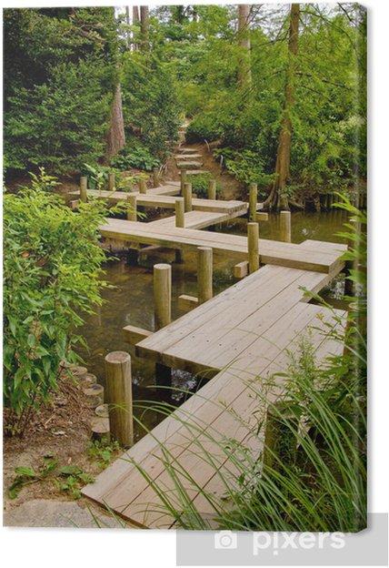 Obraz na płótnie Japoński Most zygzakowate - Dom i ogród