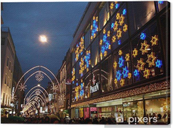 Obraz na płótnie Jarmark Bożonarodzeniowy w Bazylea, Szwajcaria - Święta międzynarodowe