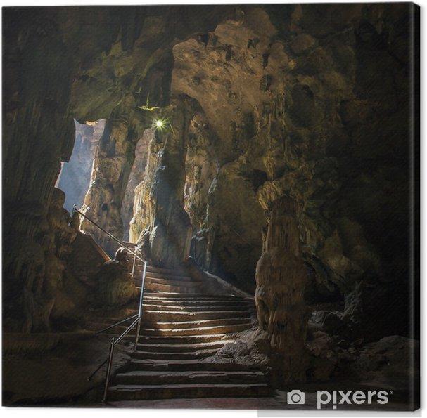 Obraz na płótnie Jaskini Khao Luang w Phetchaburi, Tajlandia - Podróże