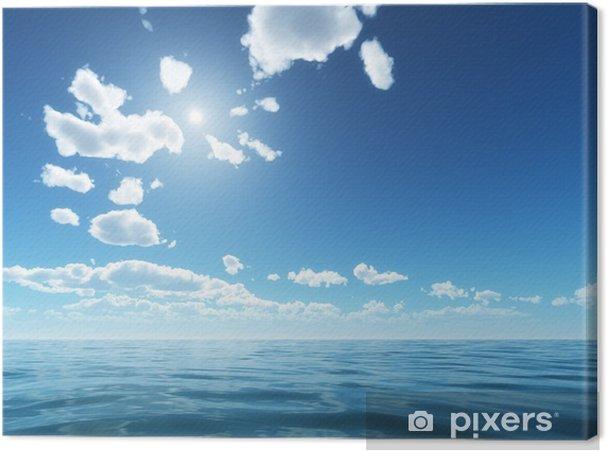 Obraz na płótnie Jasne niebo - Niebo