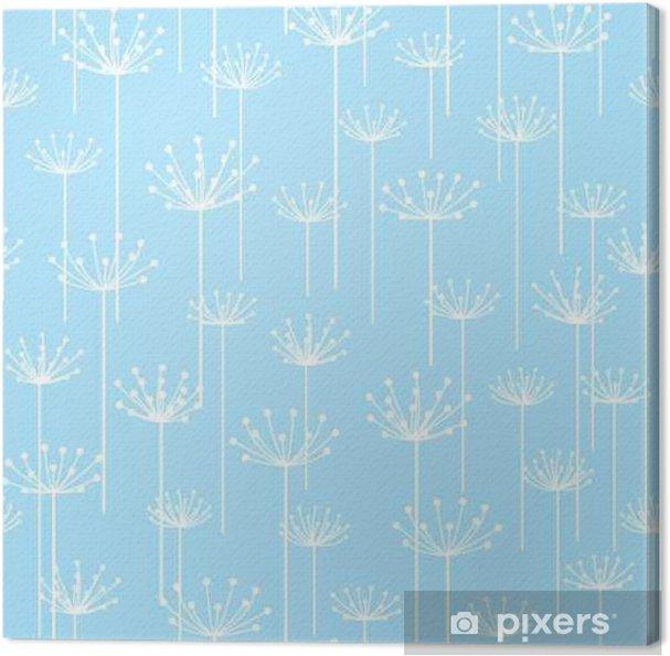 Obraz na płótnie Jednolite wzór z stylizowane kwiaty - Zasoby graficzne