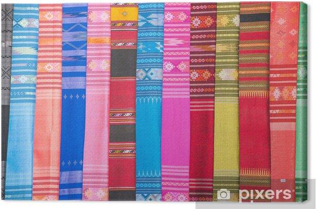 Obraz na płótnie Jedwab thai - Tekstury