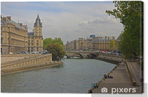Obraz na płótnie Jego pogląd - Miasta europejskie