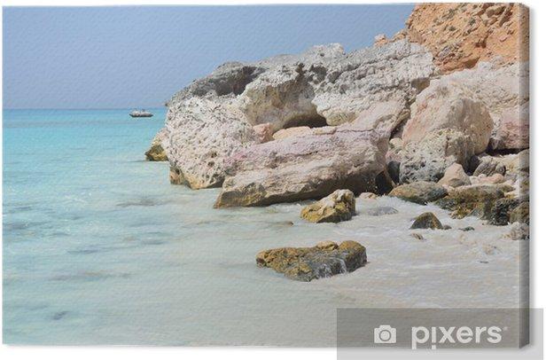 Obraz na płótnie Jemen, Sokotra wyspa, zatoka Shuab - Bliski Wschód