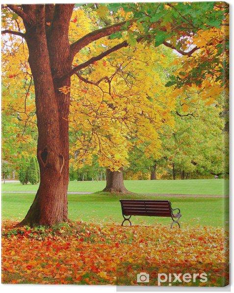 Obraz na płótnie Jesień w Helsinkach Public Garden - Tematy