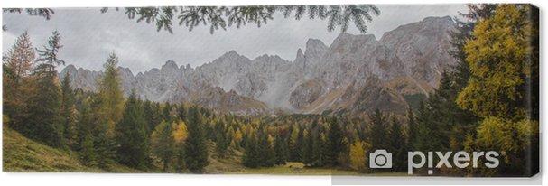 Obraz na płótnie Jesień - Góry
