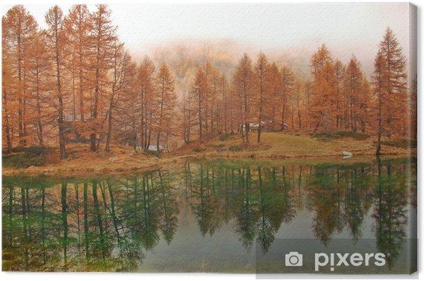 Obraz na płótnie Jesienne refleksje - Góry