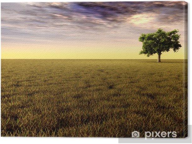 Obraz na płótnie Jesienny krajobraz - Pory roku