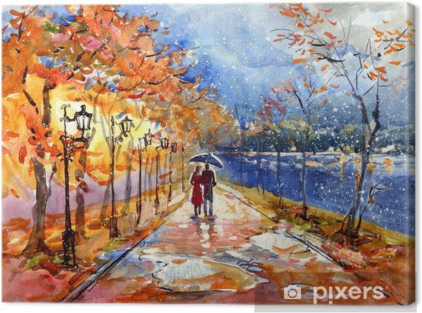 Obraz na płótnie Jesienny park (seria C) - Tematy