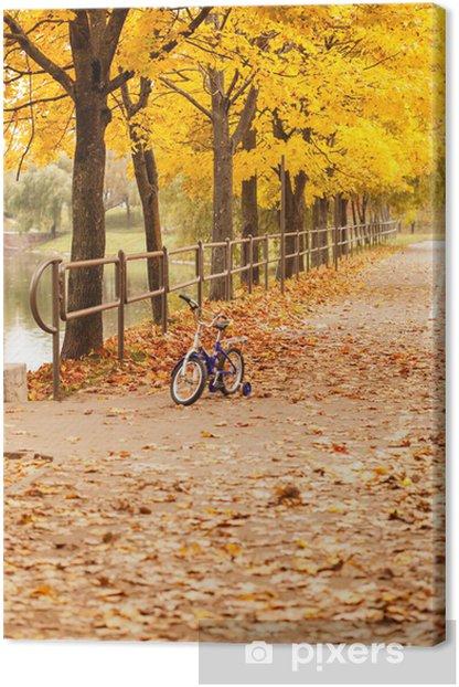 Obraz na płótnie Jesiennym parku - Budynki użyteczności publicznej