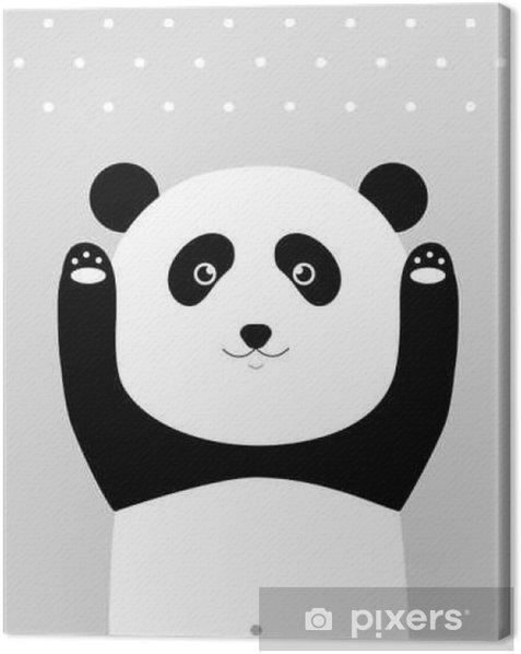 Obraz na płótnie Jestem panda. - Zwierzęta