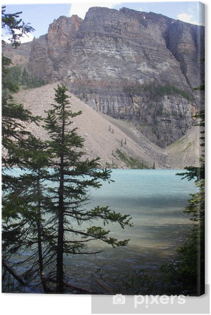 Obraz na płótnie Jeziora morenowe, Park Narodowy Banff, Kanada - Woda
